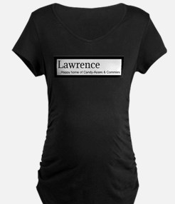 Lawrence Candy Asses & Commies Maternity T-Shirt