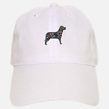 dog flower Baseball Baseball Cap