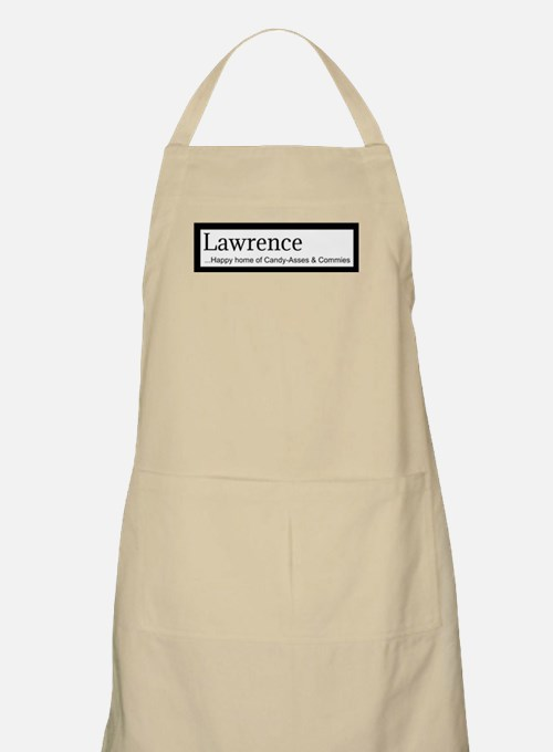 Lawrence Candy Asses & Commies Apron