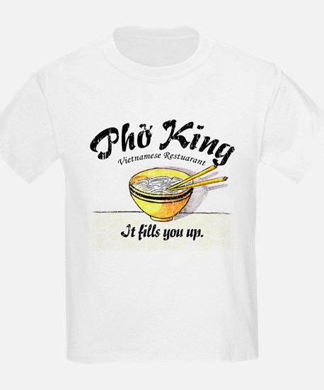 It Fills You Up Pho King Kids T-Shirt