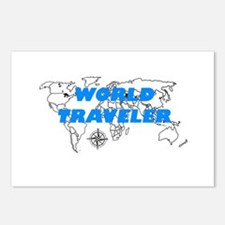 World Traveler Postcards (Package of 8)