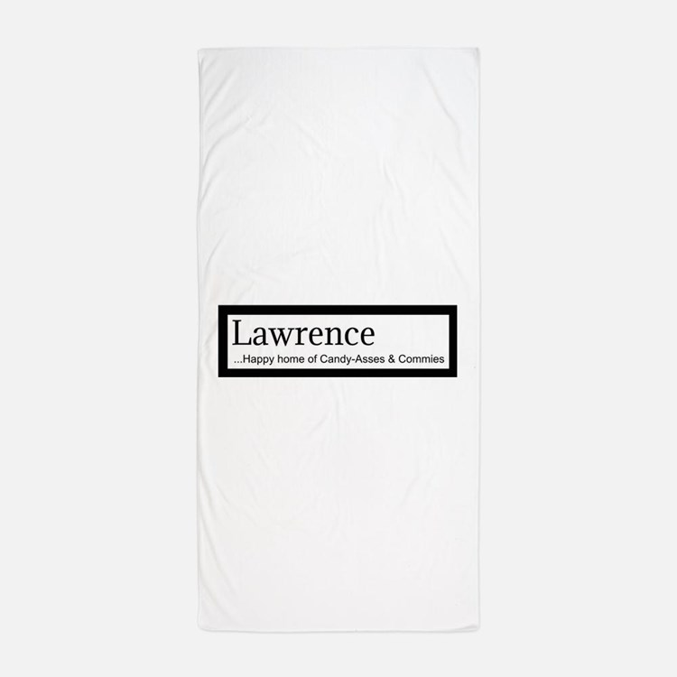 Lawrence Candy Asses & Commies Beach Towel