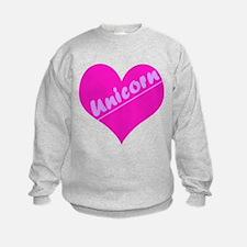 Unicorn Heart Sweatshirt