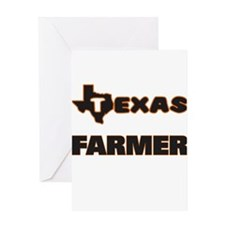 Texas Farmer Greeting Cards