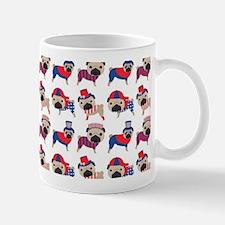 Patriotic Pugs Mug