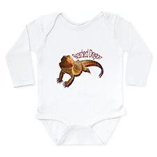 Unique Lizard Long Sleeve Infant Bodysuit