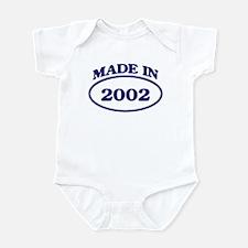 Made in 2002 Infant Bodysuit