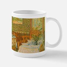 Van Gogh Interior of a Restaurant Mugs