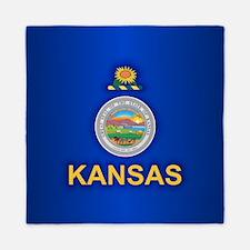 Kansas (v15) Queen Duvet