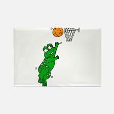 basketball player Rectangle Magnet