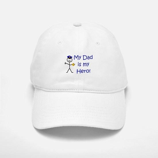 Police Kid Hero Baseball Baseball Cap