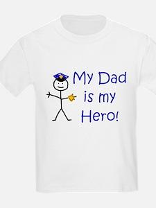 Police Kid Hero T-Shirt