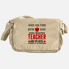 Proud Teacher Messenger Bag