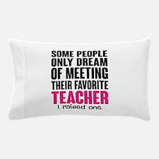 Proud Teacher Mom Pillow Case