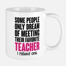 Proud Teacher Mom Mugs