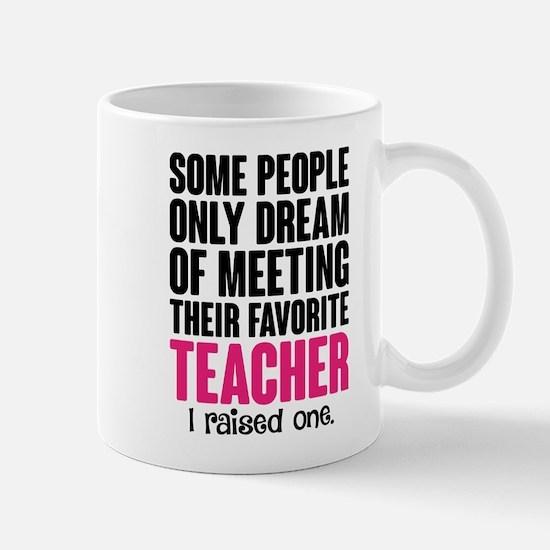 Proud Teacher Mom Mugs