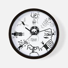 Shaman Circle Wall Clock