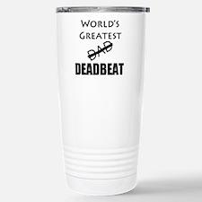 World's Greatest Deadbeat Travel Mug