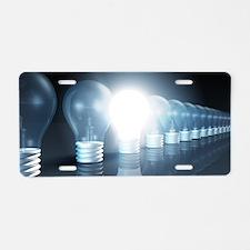 Creative Thinking Aluminum License Plate
