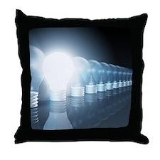Creative Thinking Throw Pillow