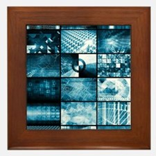 Technology Network Framed Tile