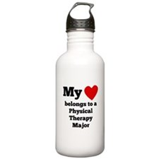 My Heart Belongs To A Physical Therapy Major Water