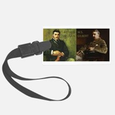 Cute Gilbert and sullivan Luggage Tag