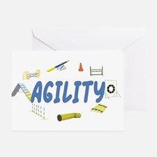 Agility Greeting Card