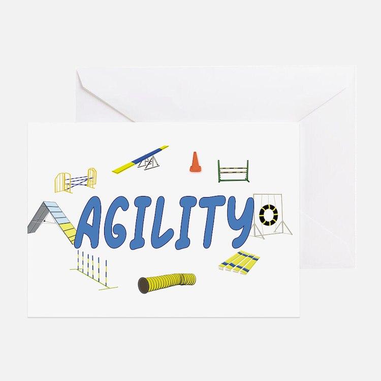 Agility Greeting Card