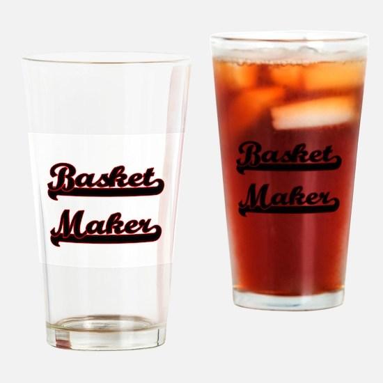 Basket Maker Classic Job Design Drinking Glass