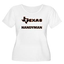 Texas Handyman Plus Size T-Shirt