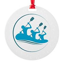 River Rafting Ornament