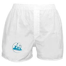 River Rafting Boxer Shorts