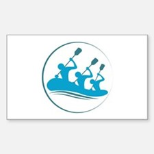 River Rafting Decal