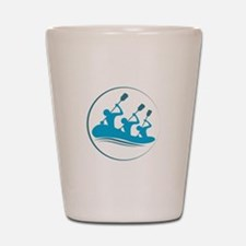 River Rafting Shot Glass