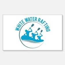 White Water Rafting Decal