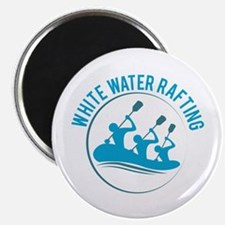 White Water Rafting Magnets