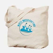 White Water Rafting Tote Bag