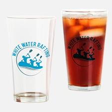 White Water Rafting Drinking Glass