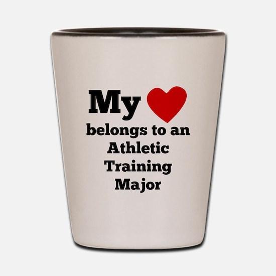 My Heart Belongs To An Athletic Training Major Sho