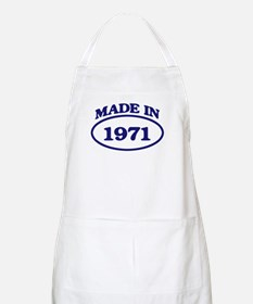 Made in 1971 BBQ Apron