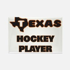 Texas Hockey Player Magnets