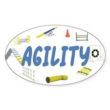 Agility Oval Decal
