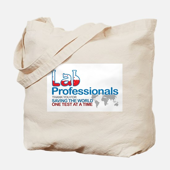 Saving the world one test at a time Tote Bag