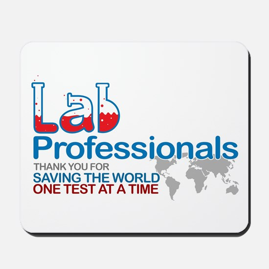 Saving the world one test at a time Mousepad