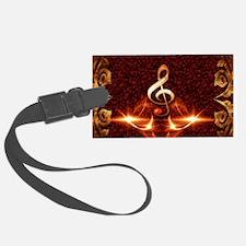 Decorative clef Luggage Tag