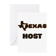 Texas Host Greeting Cards