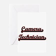Camera Technician Classic Job Desig Greeting Cards