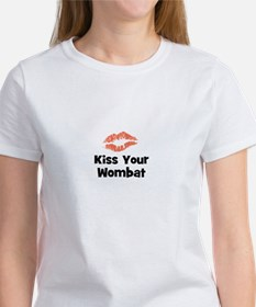 Kiss Your Wombat Tee