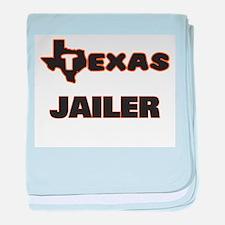 Texas Jailer baby blanket